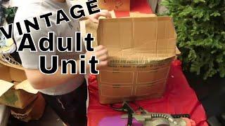 VINTAGE Adult Storage Unit I Bought.. Unclaimed And Abandoned