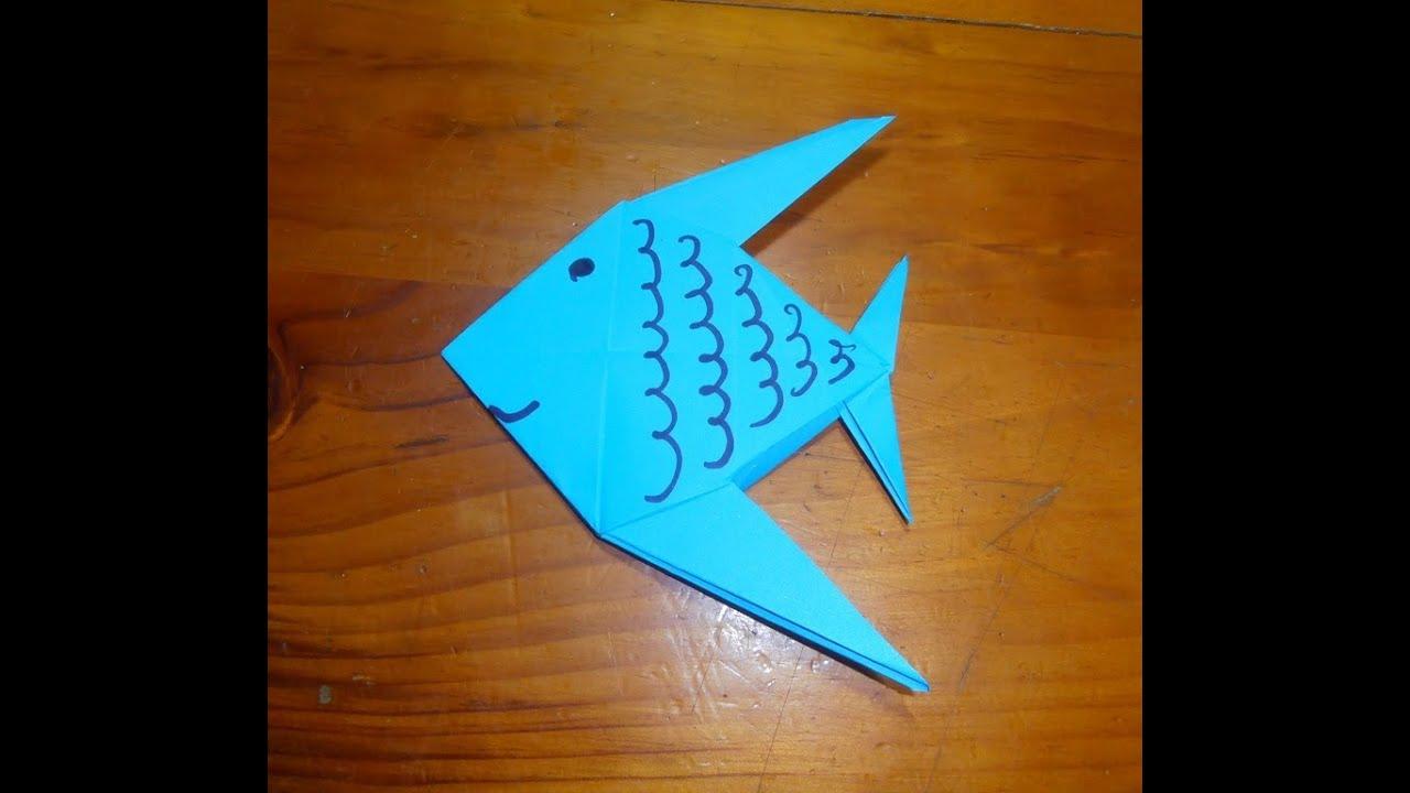 Origami - Pez - YouTube