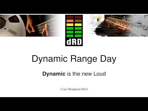 What do Steve Lillywhite, Guy Massey and Bob Ludwig think of Dynamic Range Day ?