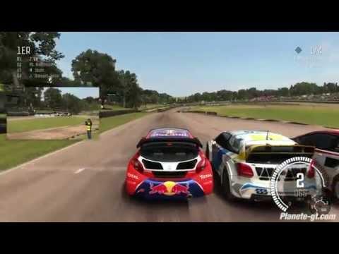 Dirt Rally : Rallycross Gameplay - Peugeot 208 WRX - England