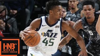 Utah Jazz vs San Antonio Spurs Full Game Highlights / Feb 12 / 2017-18 NBA Season