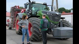 HIT !!!  Największy Ciągnik Kołowy W Polsce ! FENDT 1050 Vario& HORSCH JOKER 8 HD