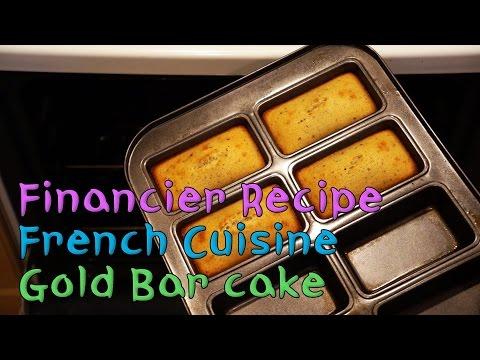 [ENG Sub] Financier Recipe - Gold Bar Shaped Almond Cake, the Original Simple Recipe