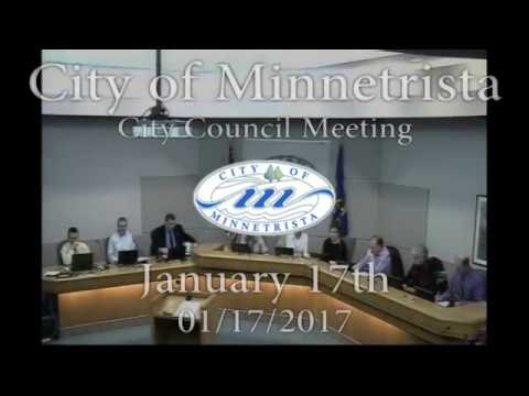 2017.01.17 Minnetrista City Council Meeting