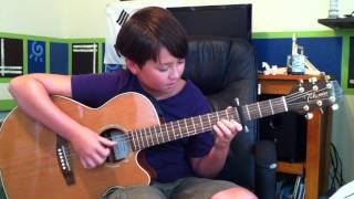 Selena Gomez - Love You Like A Love Song -fingerstyle acoustic guitar - Andrew Foy