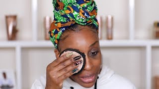 Removing My Makeup With The Face Halo: Does it WORK?! | Jackie Aina