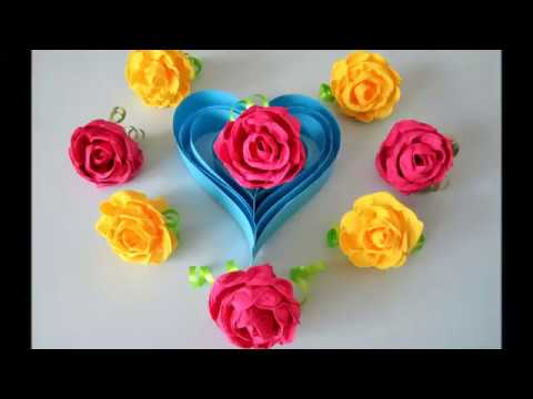 diy rosen aus servietten teil 1 roses from napkins part 1 youtube. Black Bedroom Furniture Sets. Home Design Ideas