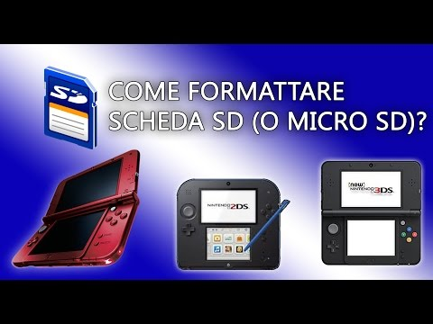 Come formattare scheda SD (o micro SD)? - NINTENDO 3DS 2DS 3DSXL