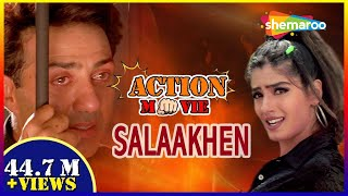Salaakhen {HD} - Hindi Full Movie - Sunny Deol - Raveena Tandon - Bollywood Action Movie