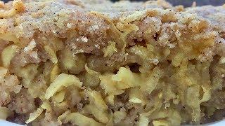"""Яблочный пирог """"Мадьярочка"""".Очень просто и вкусно!"""
