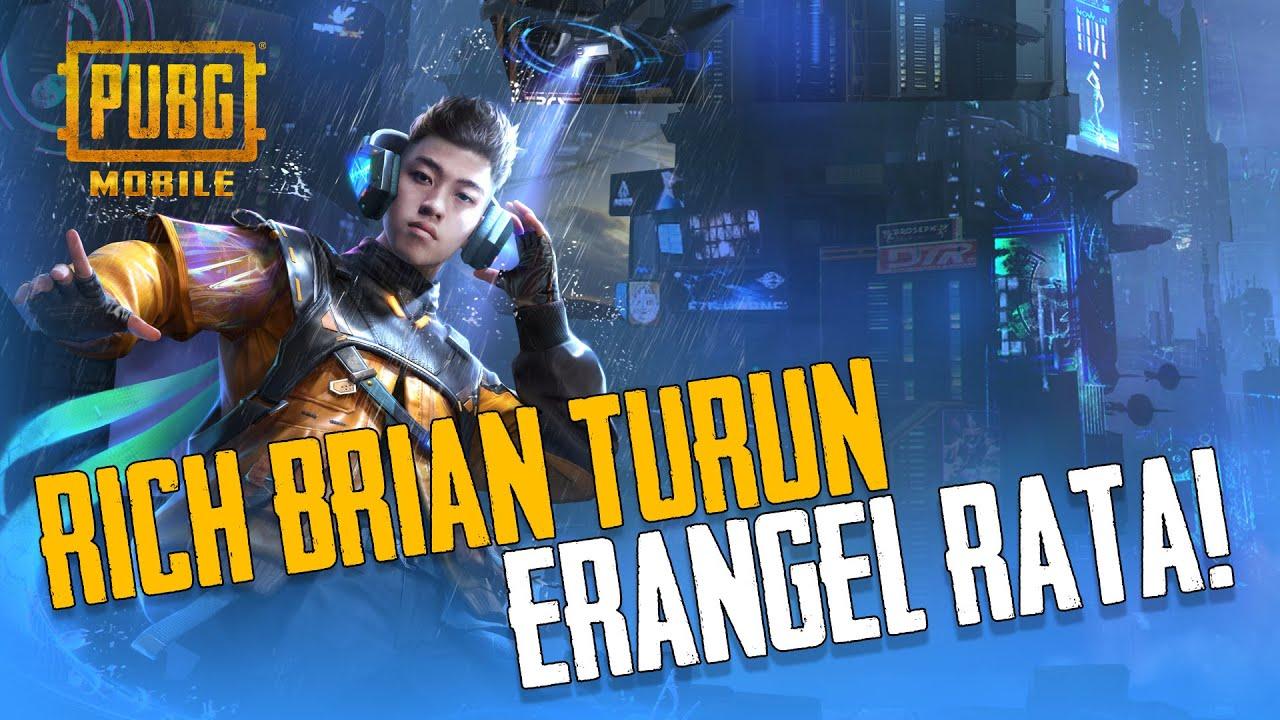 PUBG MOBILE | Rich Brian turun, Erangel RATA!