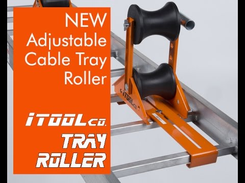 Cable Tray Rollers for Wire Pulling - iTOOLco Adjustable Cable Tray ...