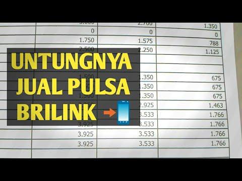 Rincian FEE Penjualan Pulsa Telkomsel Agen Brilink