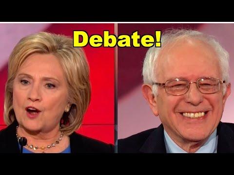 Democrats Debate! Bernie Sanders, Hillary Clinton, Martin O'Malley - LV Debate Clip Roundup