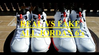 HOW TO TELL IF YOUR JORDAN 6 ARE REAL OR FAKE ALL MODELS
