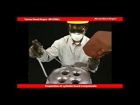 Diesel engine repair and maintenance  29.Inspection of   cylinder head components