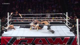 The Miz, Alberto Del Rio, & Tommy Dreamer vs. 3MB - Six-Man Tag Team Match: Raw, Dec. 17, 2012
