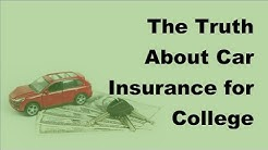 The Truth About Car Insurance for College Students -  2017 Students Car Insurance Facts