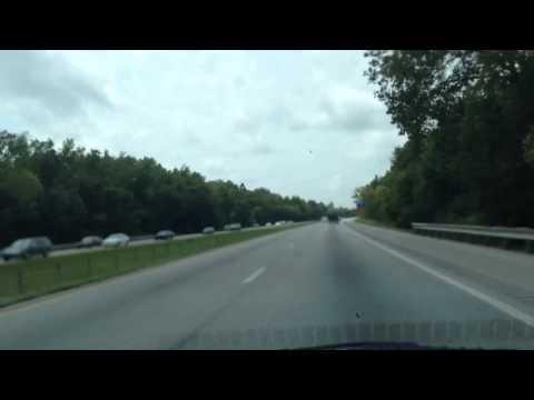 Timelapse Drive: Union, I-75, I-71, Louisville, I-265, US-44, Mt. Washington, Waterford, KY