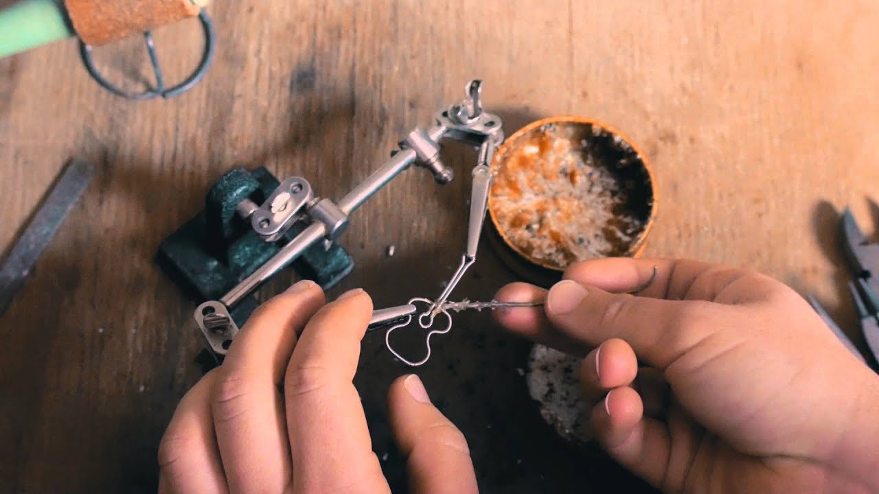 Recycled guitar string jewelry - Guitar String Jewelry Fret Knot Jewelry At The Workbench