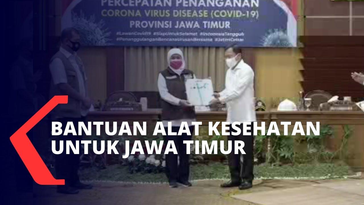 Pemerintah Beri Alat Bantuan Kesehatan untuk Jawa