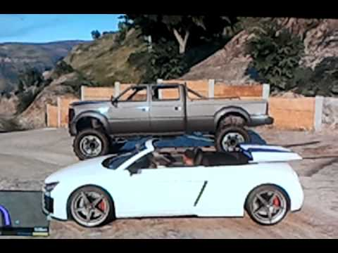 voiture d capotable sur gta v youtube. Black Bedroom Furniture Sets. Home Design Ideas