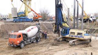Строительство нового общежития ГрГУ имени Янки Купалы. Апрель 2019
