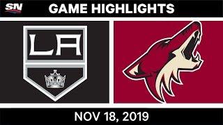 NHL Highlights   Kings vs Coyotes - Nov. 18, 2019