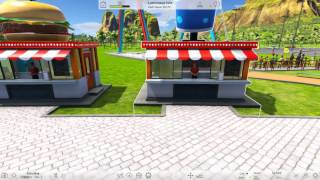 RollerCoaster Tycoon World Gameplay Episode 1 New Park