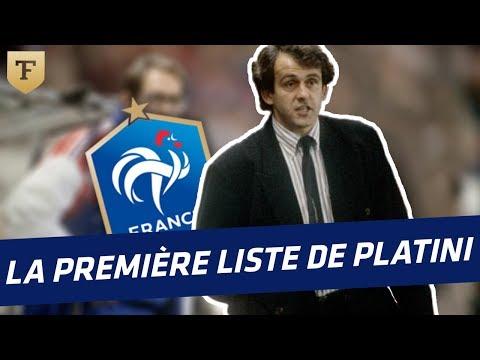 Equipe de France : La première liste de Platini en 1989
