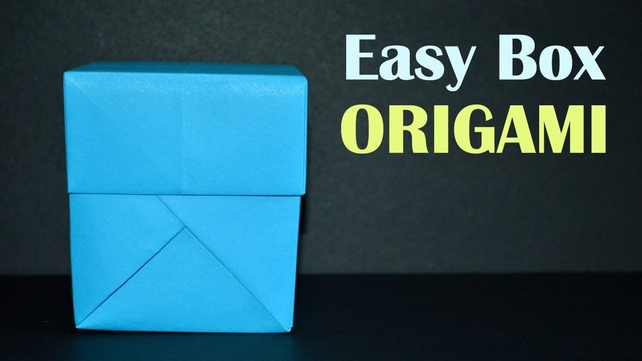 How to Make an origami gift box lid | Origami schachteln, Origami ... | 720x1280