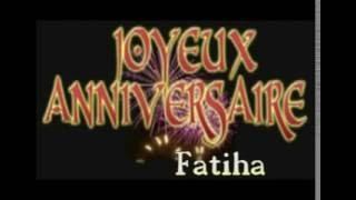 anniversaire fatiha