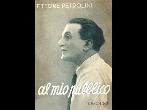 ETTORE PETROLINI  - TANTO PE' CANTA' versione originale 1932 rarissima