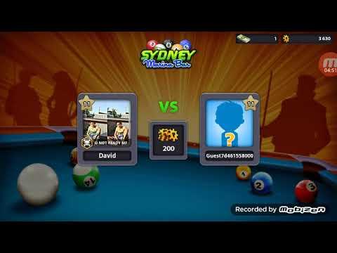 8 bool pool game first record