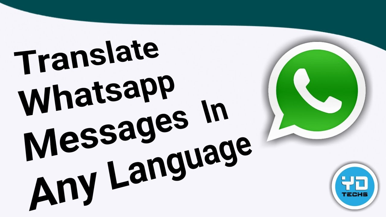 How to Translate WhatsApp Message from English to Hindi | Hi Translate App