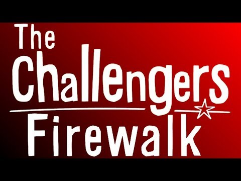 I'm going to do a fire walk for charity. 🔥