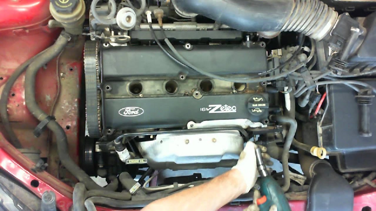medium resolution of ford zetec 2 0 liter timing belt replacement part i hd