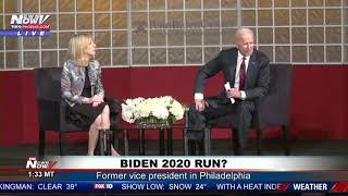 BIDEN 2020 WATCH: Joe Biden Speaks In Philadelphia