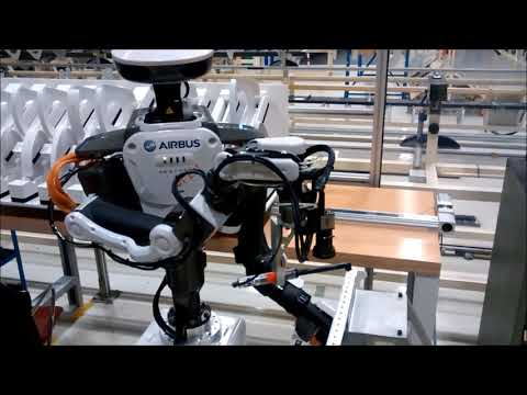 <p>Robots industriels autonomes à double bras robotique court (anglais)</p>