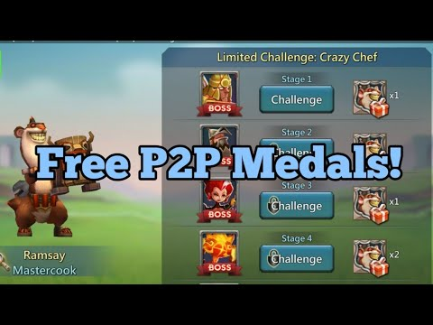 Lords Mobile - Limited Event Overview: Free P2P Medals!
