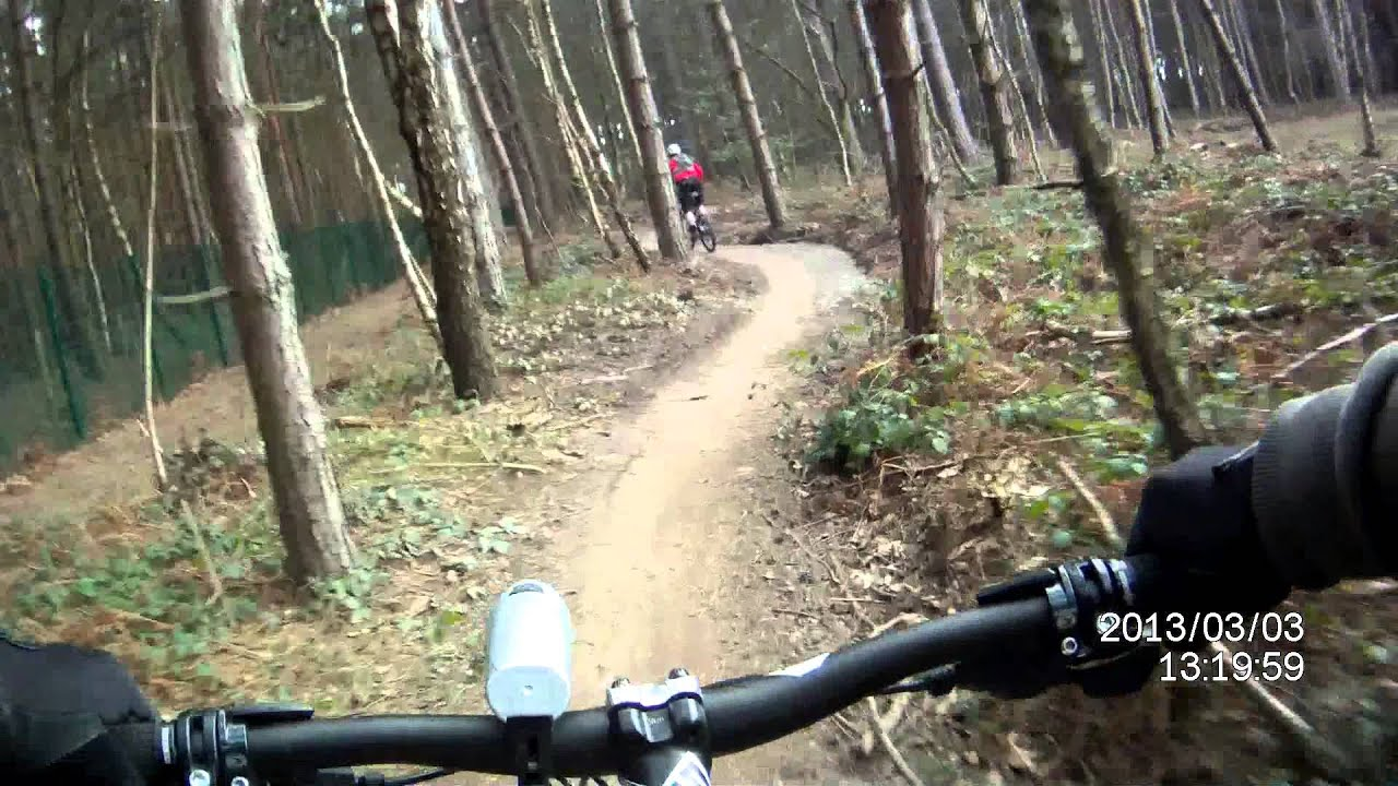 Sherwood Pines Sherwood Forest Red Route Mountain Bike Action