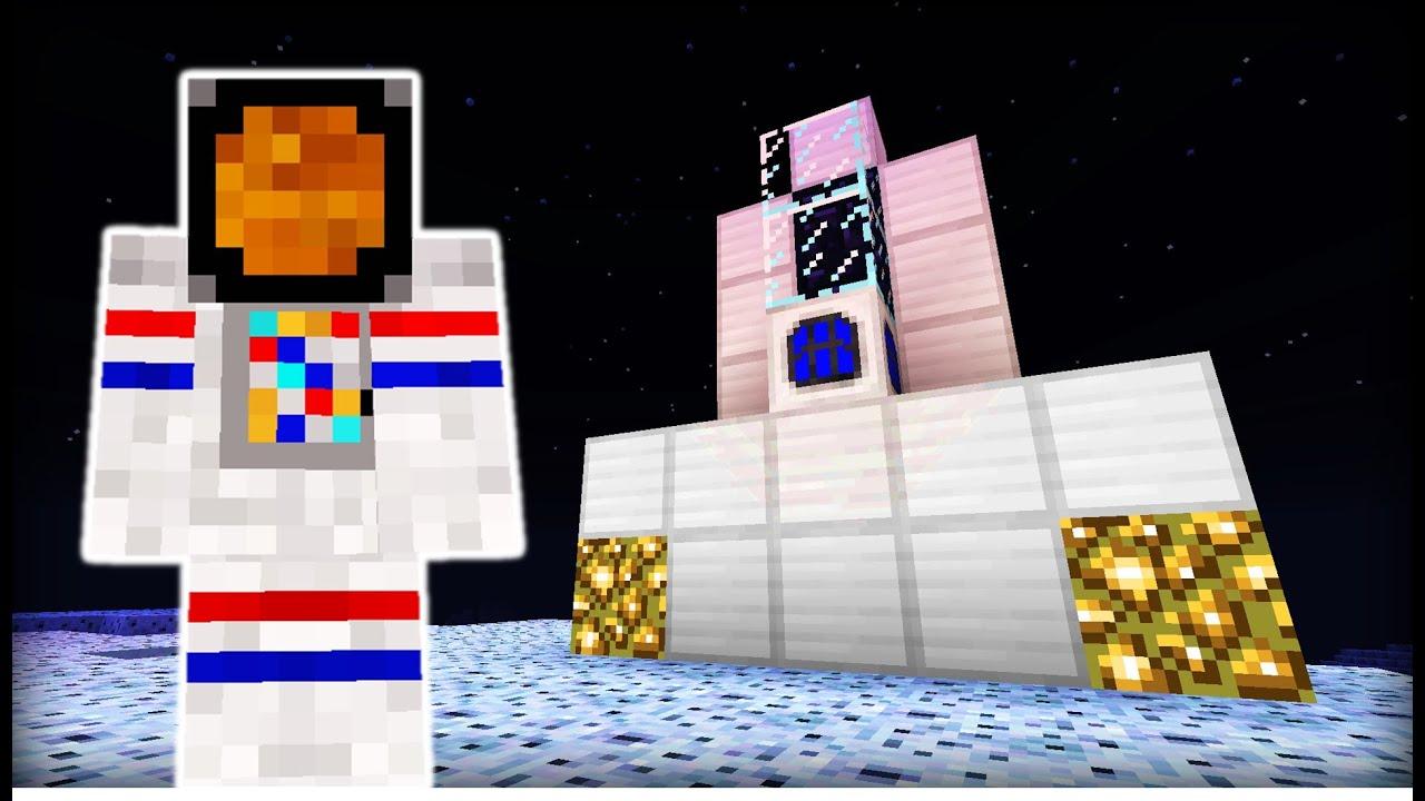 Minecraft MOON MOD - YouTube