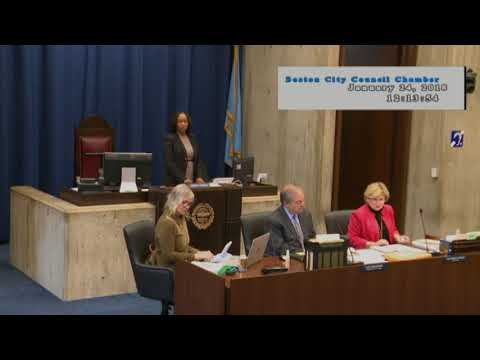 Boston City Council Meeting on January 24, 2018