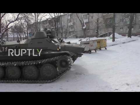 Ukraine: Donetsk civilians evacuated amid renewed fighting in E. Ukraine