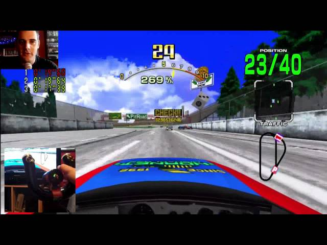Daytona USA Wireless Wheel
