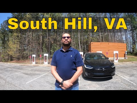 South Hill, VA - Tesla Supercharger Review