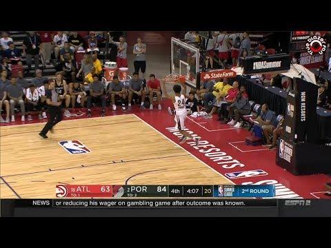 Portland Trail Blazers vs Atlanta Hawks Summer League 2018 - Full Game Highlights