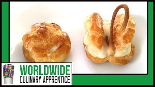 Piping Techniques - How to Pipe Choux - Cream Puffs - Éclair - Pastry Classes
