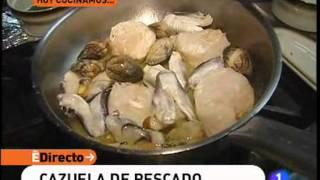 Primera receta de Cazuela de pescado ED
