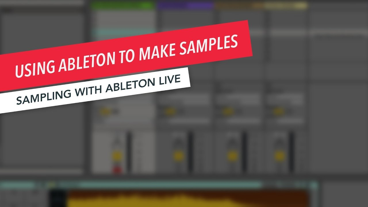 Create melodies from vocal samples in ableton youtube.